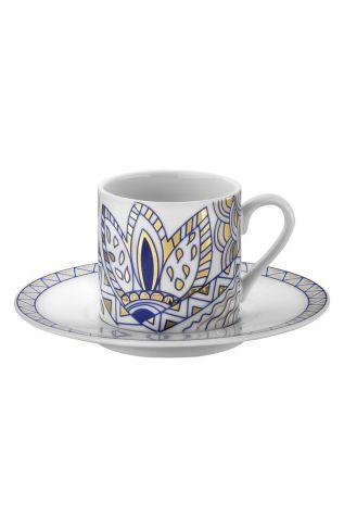Kütahya Porselen - Kütahya Porselen Rüya 9234 Desen Kahve Fincan Takımı
