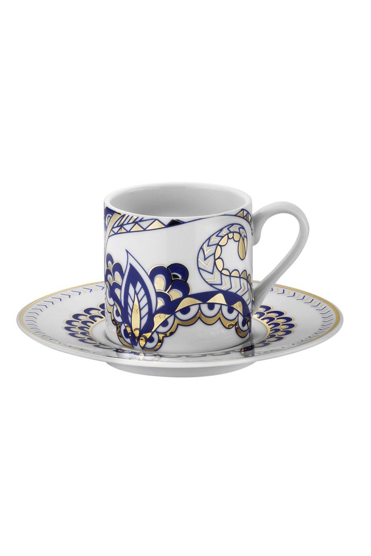 Kütahya Porselen - Kütahya Porselen Rüya 9235 Desen Kahve Fincan Takımı