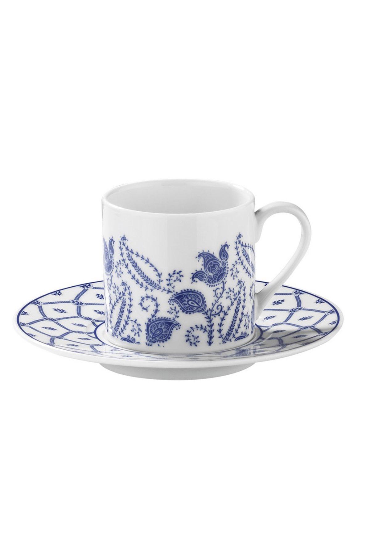 Kütahya Porselen - Kütahya Porselen Rüya 9740 Desen Kahve Fincan Takımı