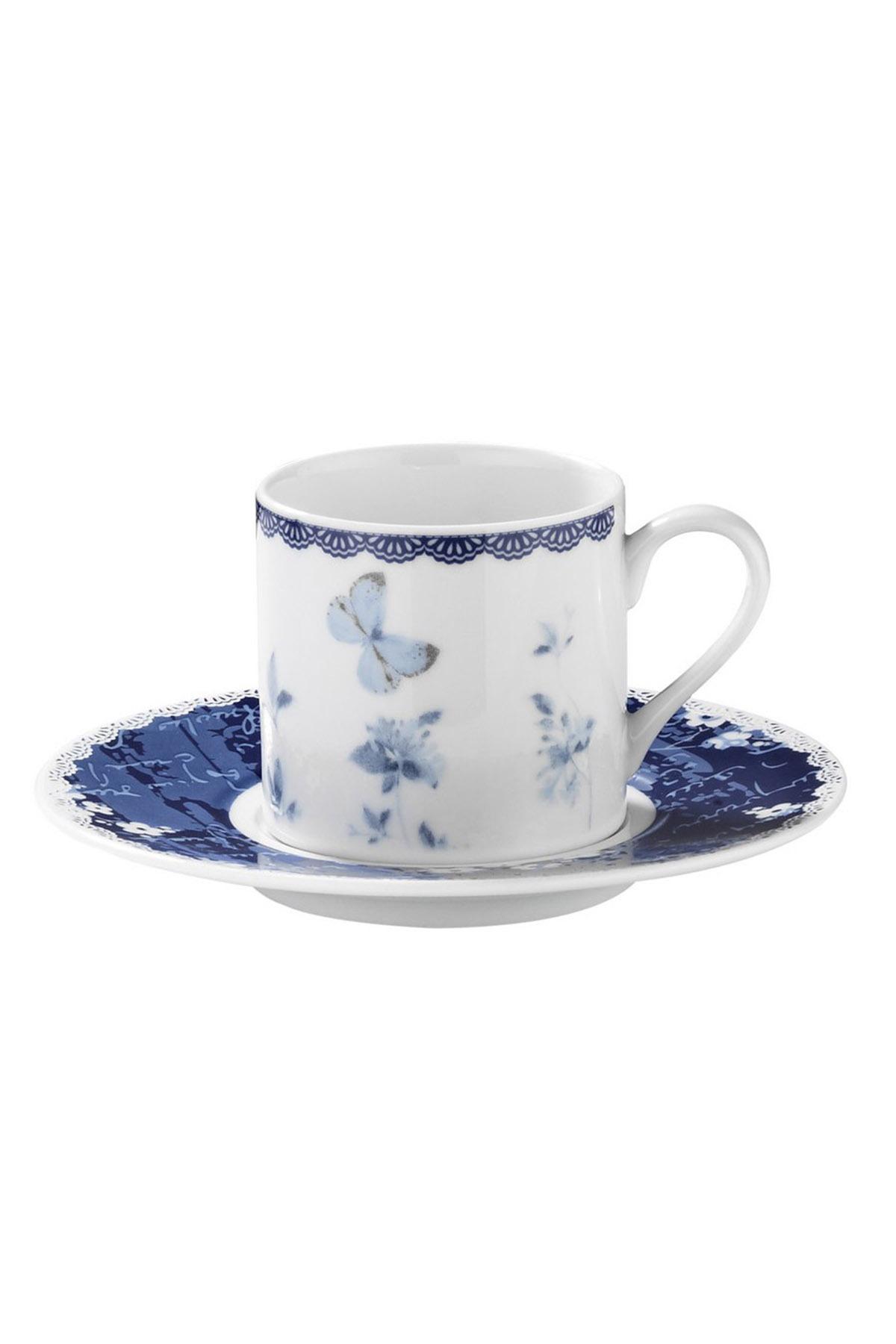 KÜTAHYA PORSELEN - Kütahya Porselen Rüya 9742 Desen Kahve Fincan Takımı