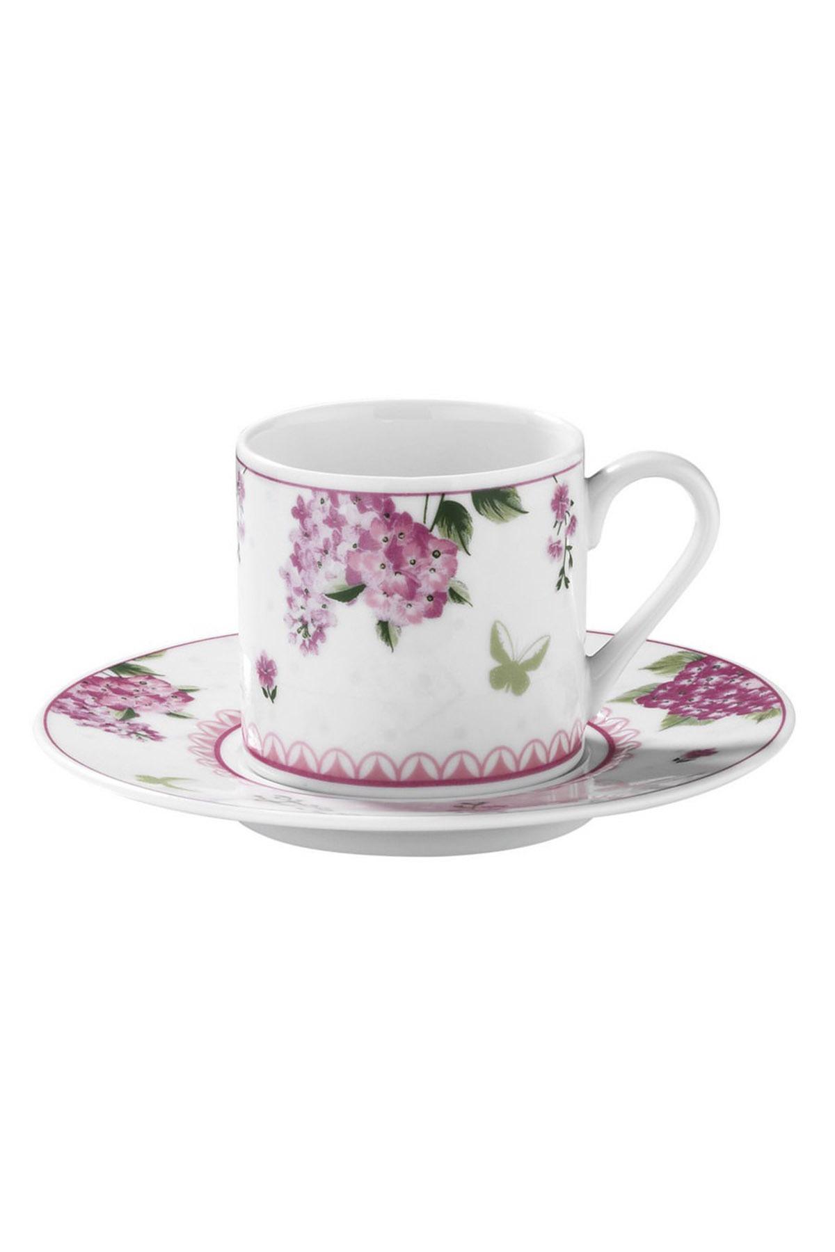 Kütahya Porselen - Kütahya Porselen Rüya 9746 Desen Kahve Fincan Takımı