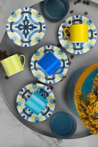 Kütahya Porselen Rüya 98302 Desen Kahve Fincan Takımı - Thumbnail (2)