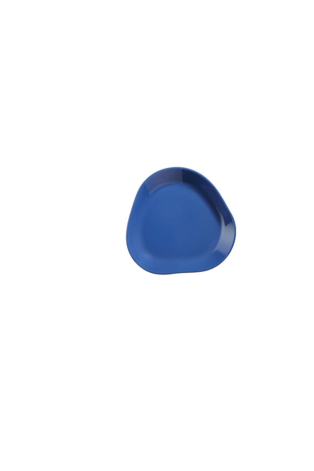 Kütahya Porselen Skallop 2′li 18 cm Pasta Seti Lacivert