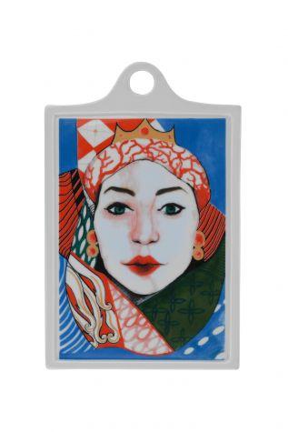 Kütahya Porselen - Kütahya Porselen Sophia Femina 26x16 Peynir Tabağı