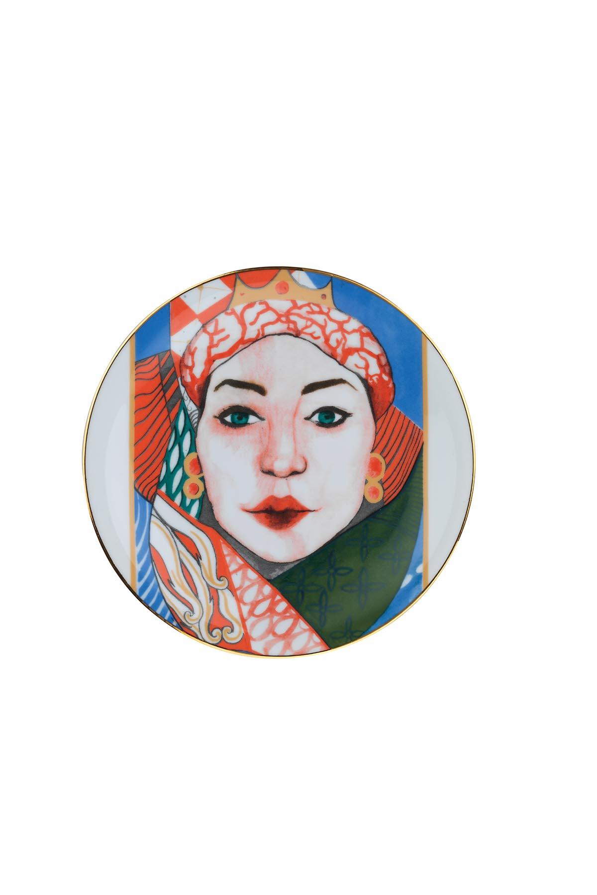 Kütahya Porselen Sophia Femina 6'lı Pasta Takımı