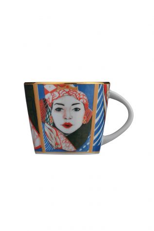 Kütahya Porselen Sophia Femina Kahve Takımı - Thumbnail (1)