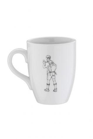 Kütahya Porselen - Kütahya Porselen Sporcu Mug Bardak Dağcı