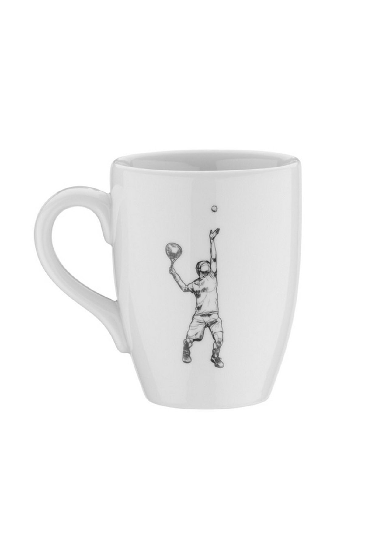 Kütahya Porselen - Kütahya Porselen Sporcu Mug Bardak Tenis
