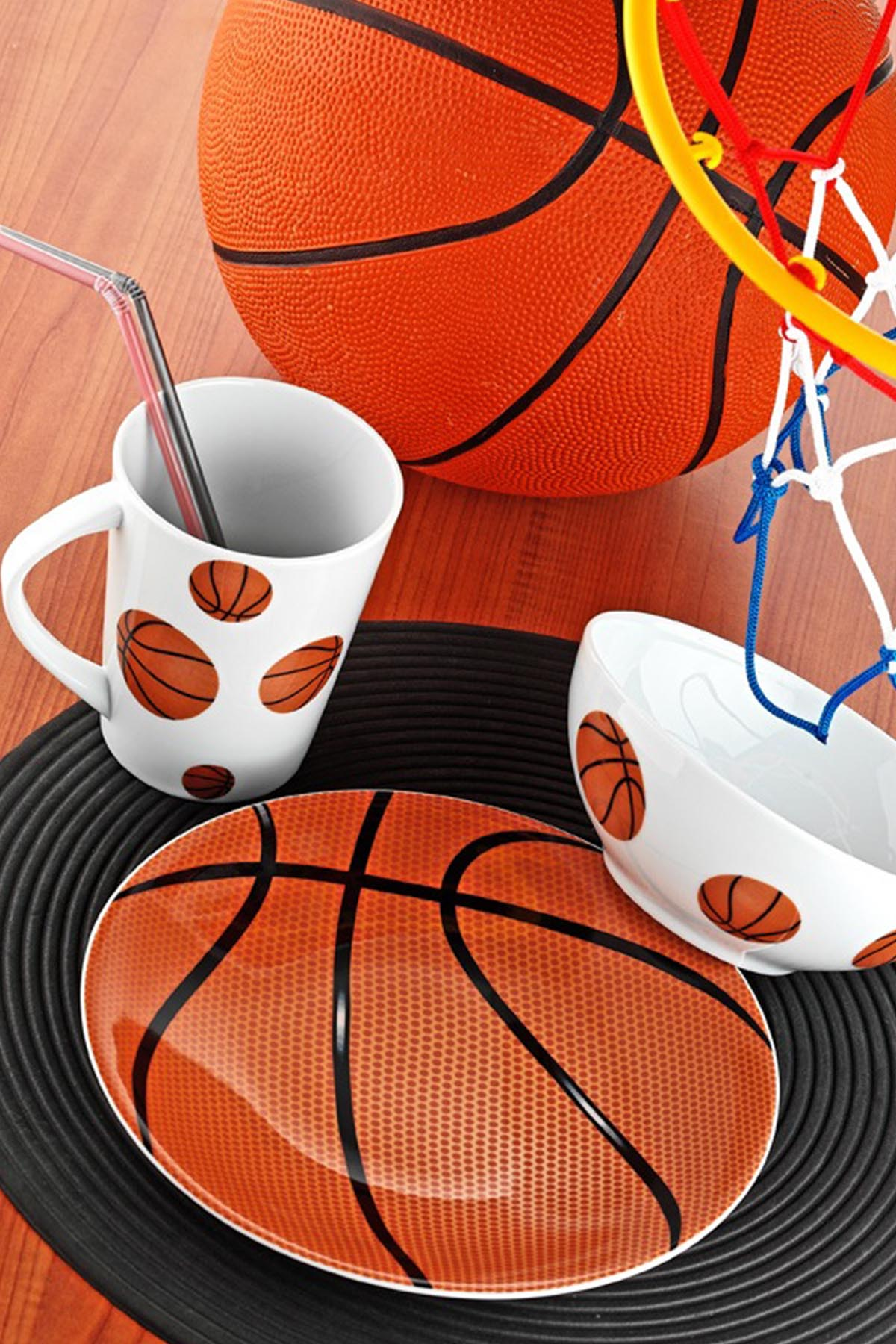Kütahya Porselen Team Game Basketball Yemek Seti