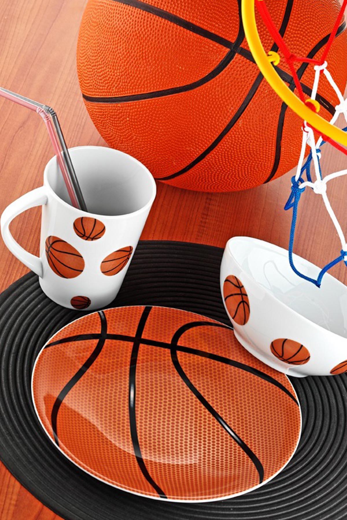 Kütahya Porselen - Kütahya Porselen Team Game Basketball Yemek Seti