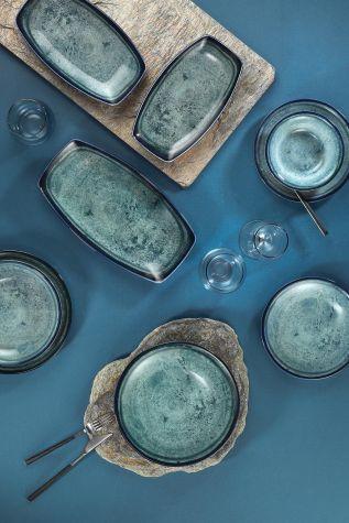 Corendon - Kütahya Porselen Nanokrem 51 Parça Yemek Takımı 890003