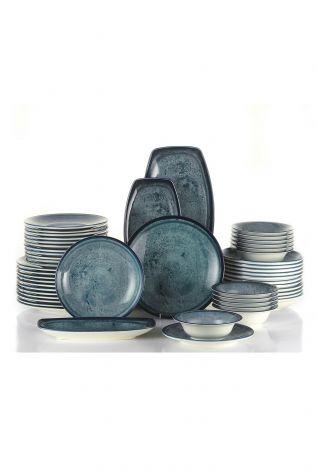 Kütahya Porselen Nanokrem 51 Parça Yemek Takımı 890003 - Thumbnail (1)
