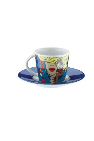 Kütahya Porselen Toledo 10910 Desen Kahve Takımı - Thumbnail (2)