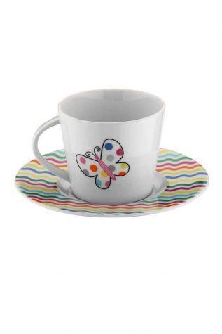 KÜTAHYA PORSELEN - Kütahya Porselen Toledo 7069 Desen Çay Fincan Takımı