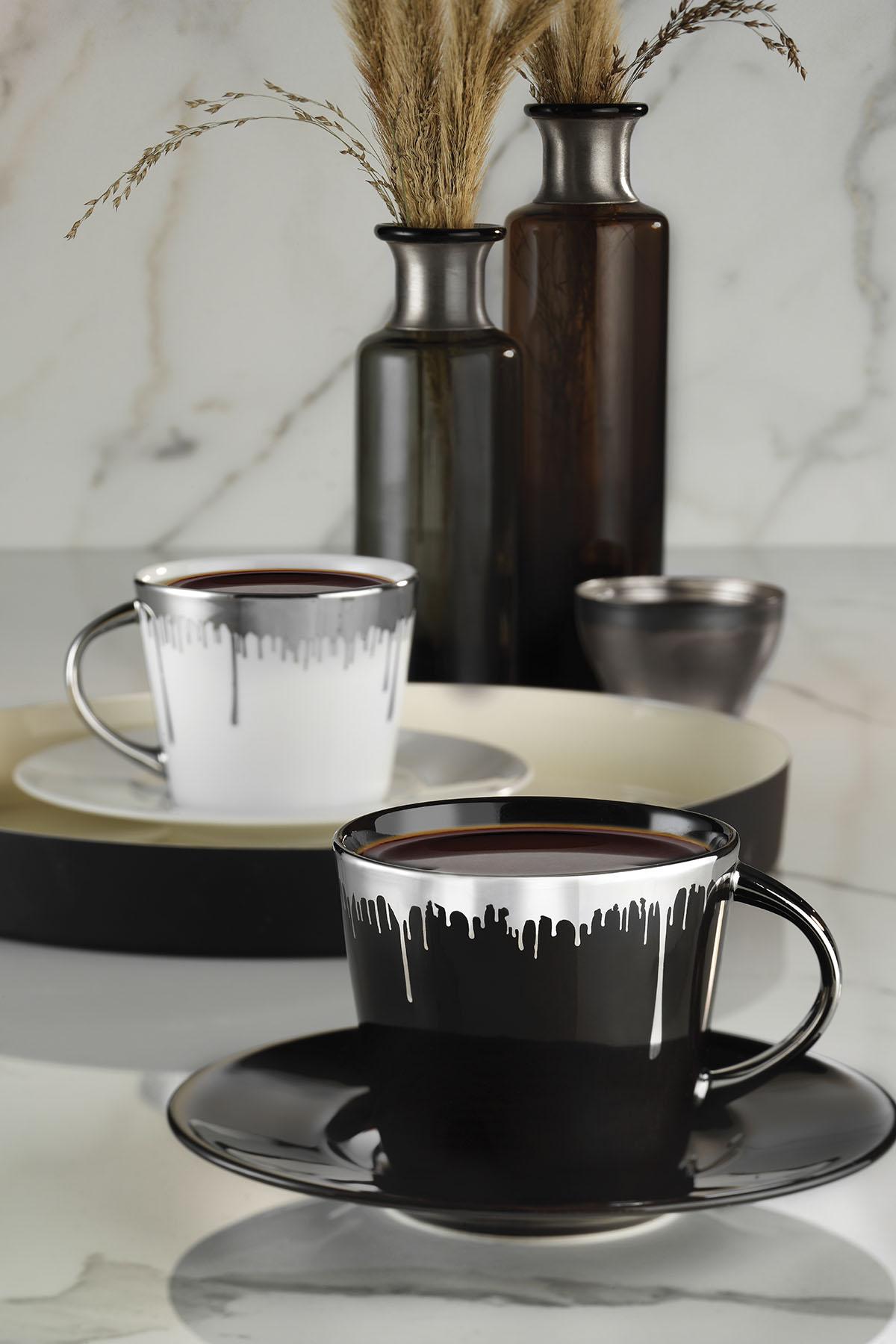 Kütahya Porselen Toledo Çay Takımı 10751
