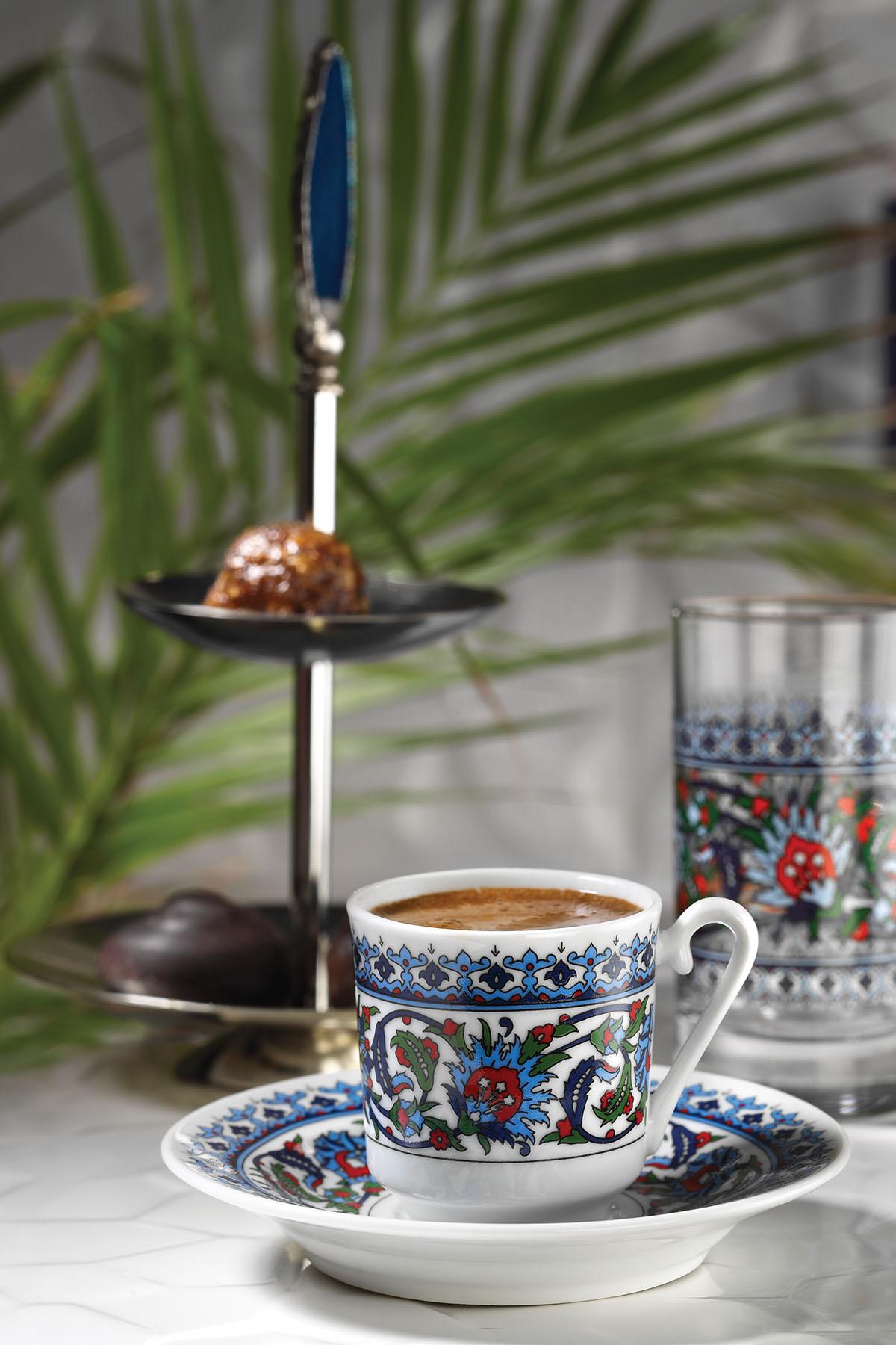 Kütahya Porselen - Kütahya Porselen Topkapı Fincan Takımı