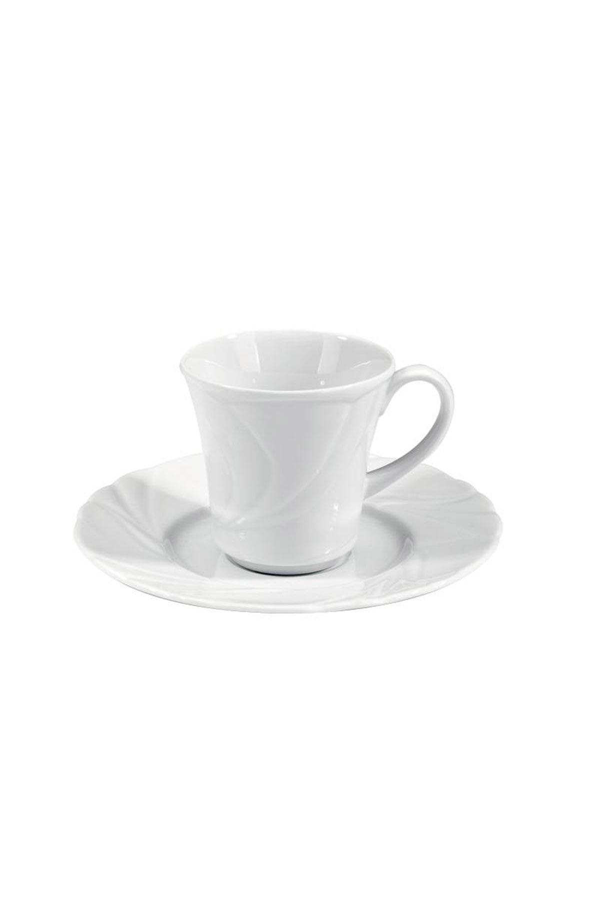 KÜTAHYA PORSELEN - Kütahya Porselen Troya Kahve Fincan Takımı