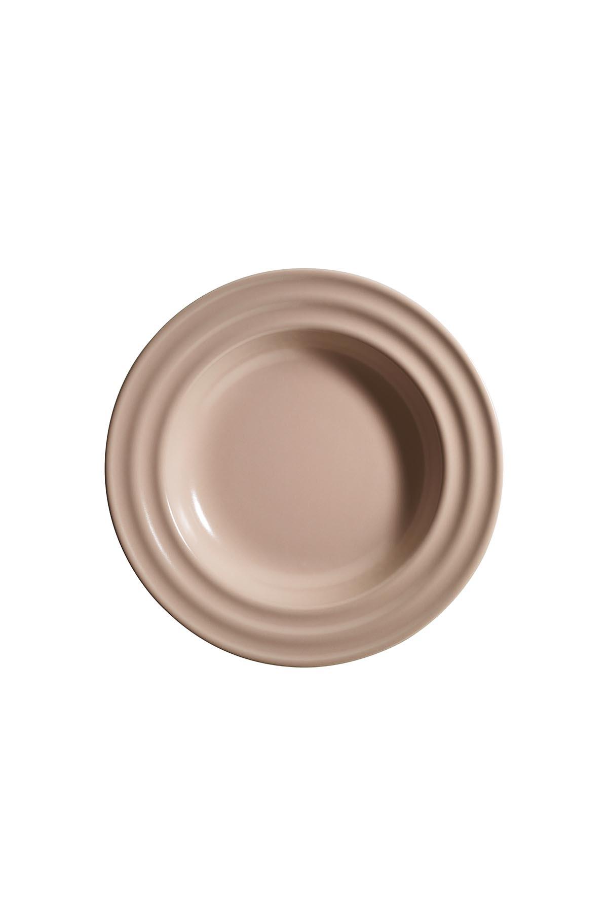 Kütahya Porselen New Tuvana 24 Parça Yemek Seti Pembe