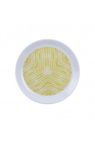 Kütahya Porselen Vista 7 Parça Sarı Pasta Takımı - Thumbnail (1)