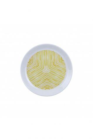 Kütahya Porselen Vista 7 Parça Sarı Pasta Takımı - Thumbnail (2)