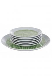 Kütahya Porselen Vista 7 Parça Yeşil Pasta Takımı - Thumbnail