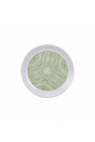 Kütahya Porselen Vista 7 Parça Yeşil Pasta Takımı - Thumbnail (2)