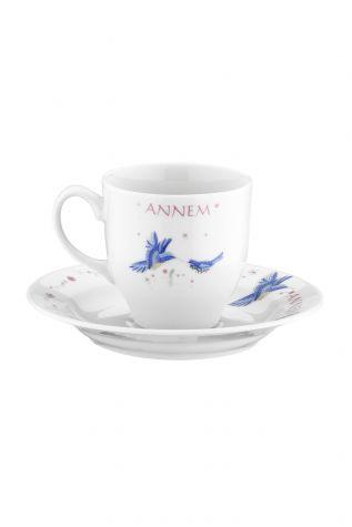 Kütahya Porselen Yasemin 12 Parça 10228 Desen Kahve Takımı - Thumbnail (1)