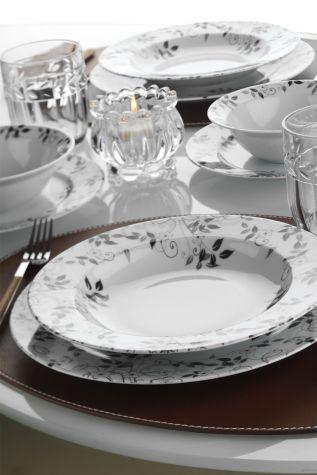 Kütahya Porselen - Kütahya Porselen Yasemin 24 Parça Yemek Seti 885174