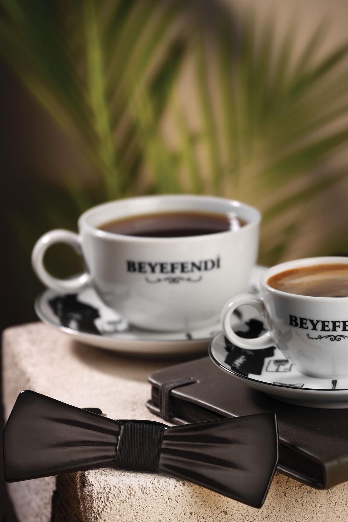 Kütahya Porselen Centilmen Serisi Çay Fincan Takımı 10513