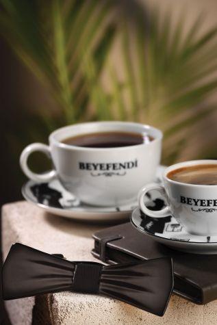 Kütahya Porselen - Kütahya Porselen Centilmen Serisi Kahve Fincan Takımı 10513