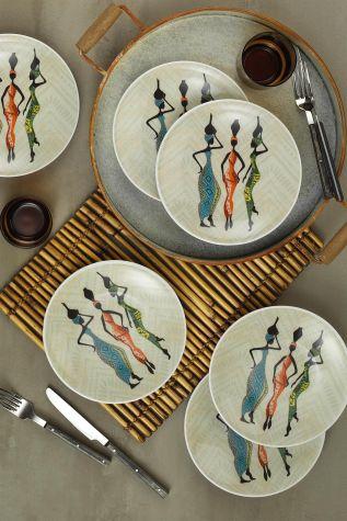 Kütahya Porselen - Kütahya Porselen Zeugma 6′lı Pasta Takımı 85371