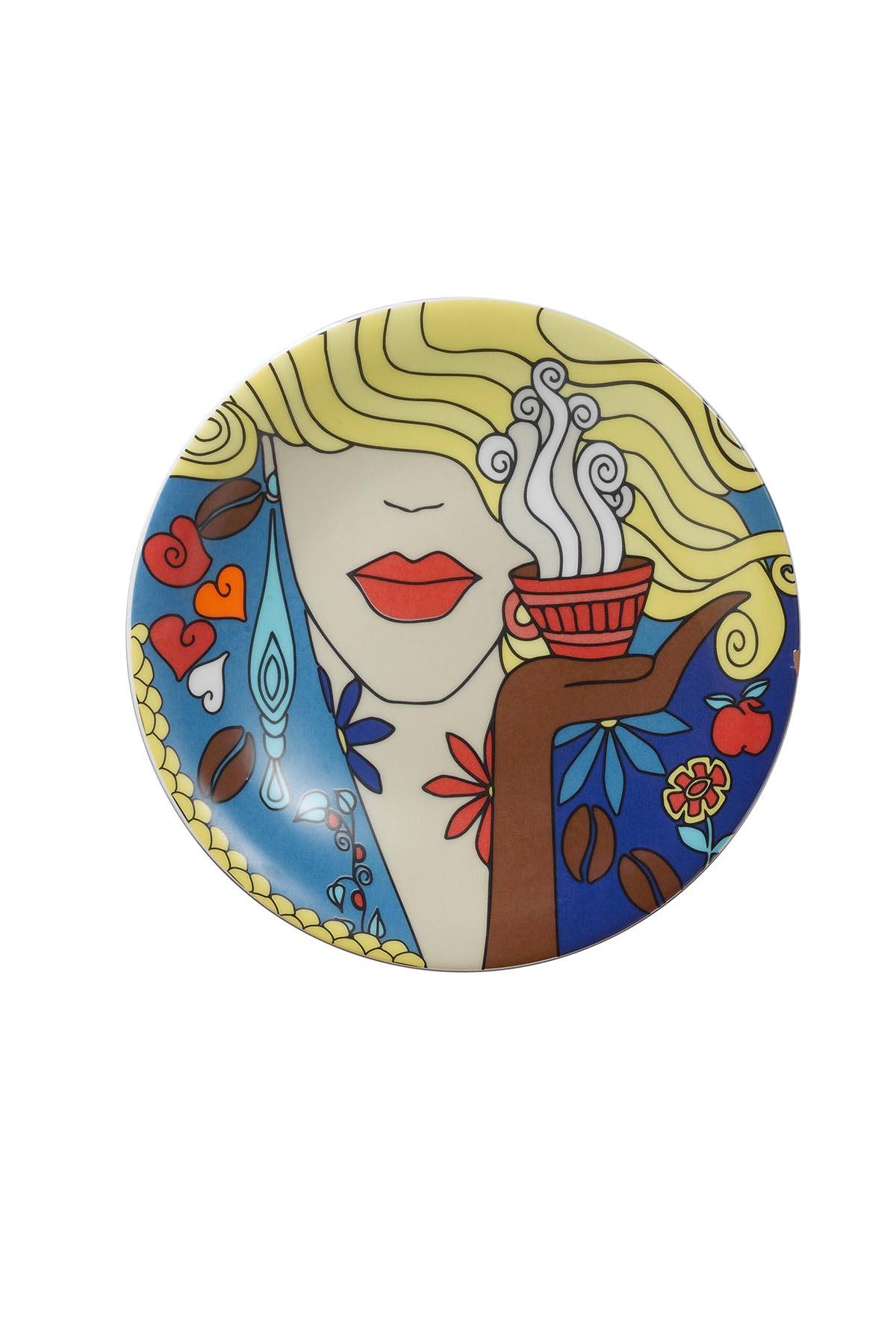 Kütahya Porselen Zeugma 6′lı Pasta Takımı 10910