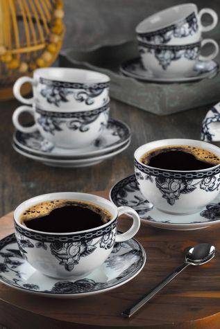 Kütahya Porselen - Kütahya Porselen Zeugma Çay Fincan Takımı 939012