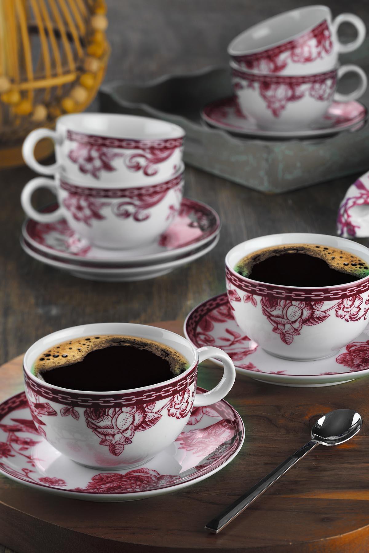 Kütahya Porselen Zeugma Çay Fincan Takımı 93902