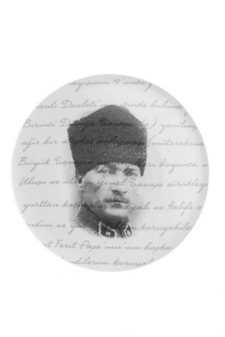 Kütahya Porselen - Kütahya Porselen Zeugma Dekoratif Tabak Special Coll. Atatürk 10428