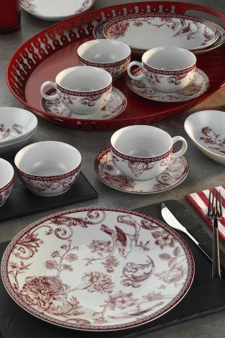 Kütahya Porselen - Kütahya Porselen Zeugma Kahvaltı Takımı 93902