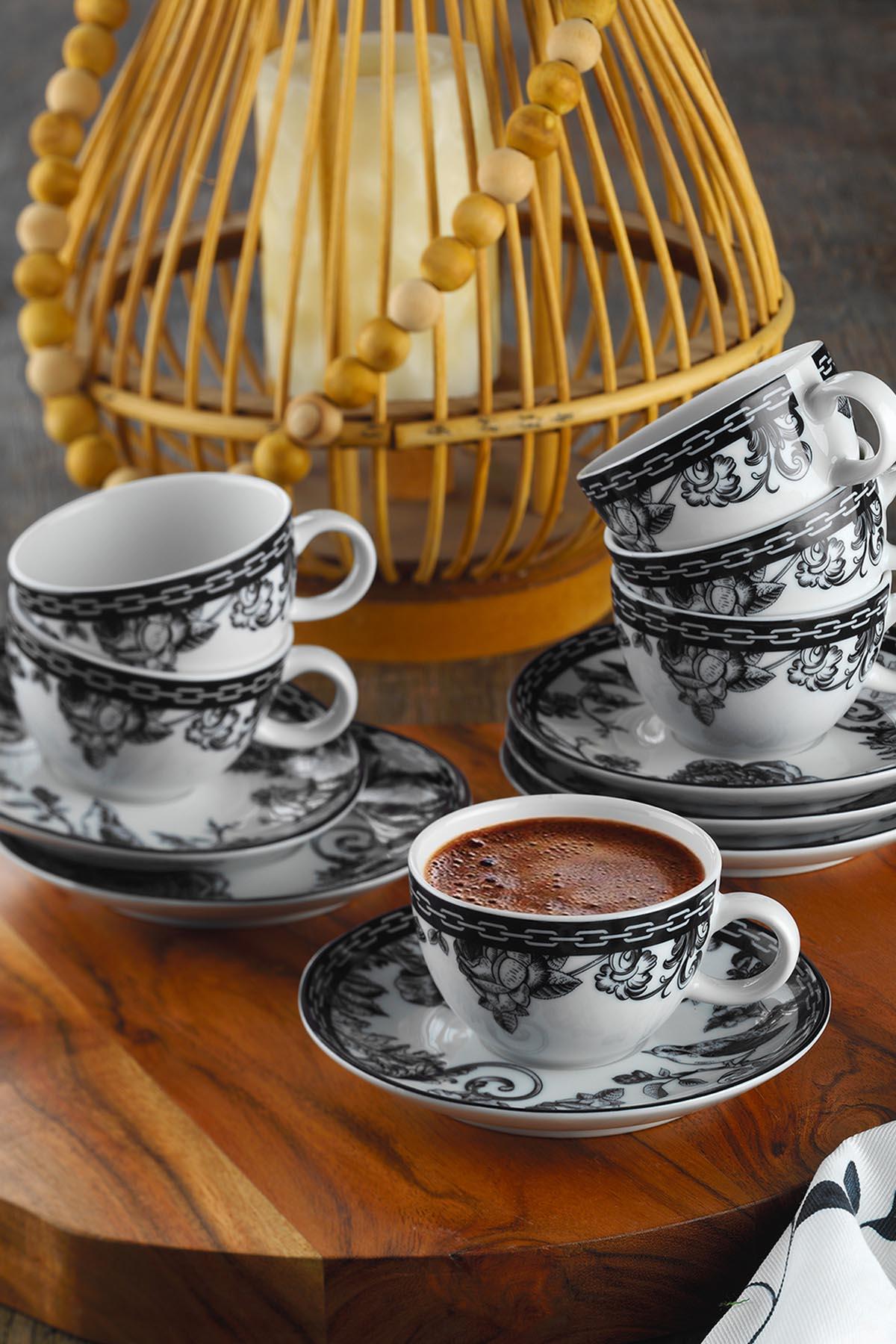 Kütahya Porselen Zeugma Kahve Fincan Takımı 939012