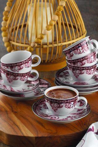 Kütahya Porselen - Kütahya Porselen Zeugma Kahve Fincan Takımı 93902