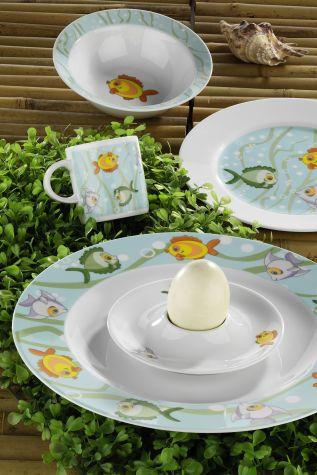 Kütahya Porselen - Kütahya Porselen Tombik Balıklar Mama Takımı