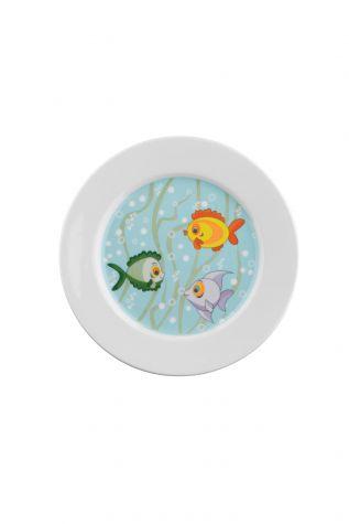Kütahya Porselen Tombik Balıklar Mama Takımı - Thumbnail (2)