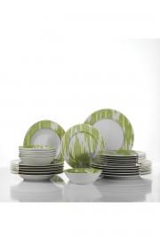Leonberg 24 Prc Yemek Seti Yeşil Renk 105633 - Thumbnail