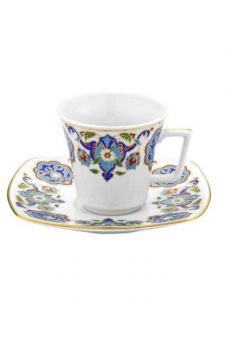 KÜTAHYA PORSELEN - Kütahya Porselen 3868 Desen Kahve Takımı