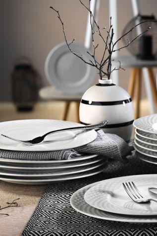 Kütahya Porselen - Kütahya Porselen Polo 18 Parça Yemek Seti