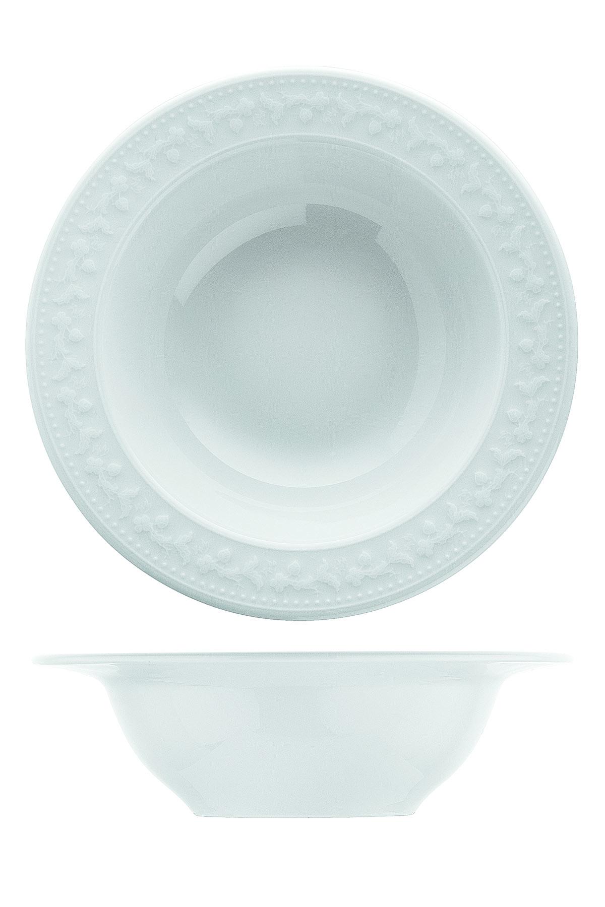 Kütahya Porselen - Kütahya Porselen Silvia 24 Parça Yemek Seti (1)