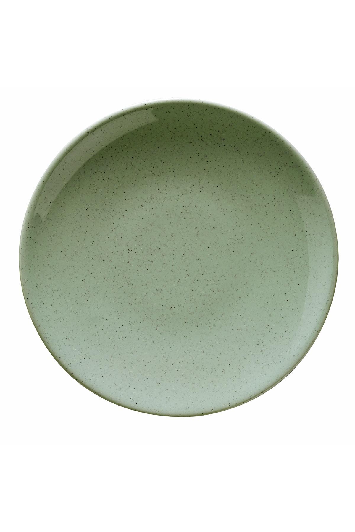 Naturaceram Harlek Granül 24 Parça Yeşil Yemek Seti
