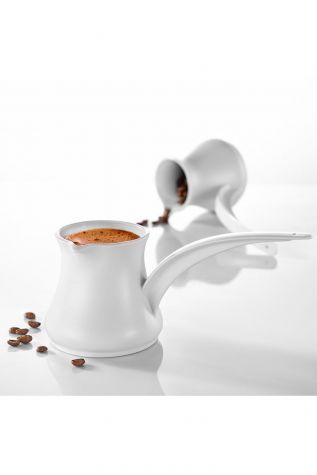 Kütahya Porselen - Porflame Porselen 2 li Cezve Seti