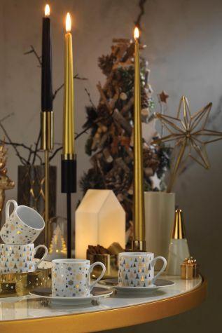 Kütahya Porselen - Kütahya Porselen Rüya 11218 Desen Kahve Fincan Takımı