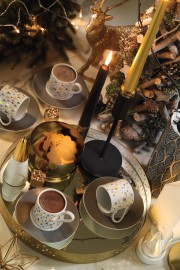 Kütahya Porselen Rüya 11218 Desen Kahve Fincan Takımı - Thumbnail