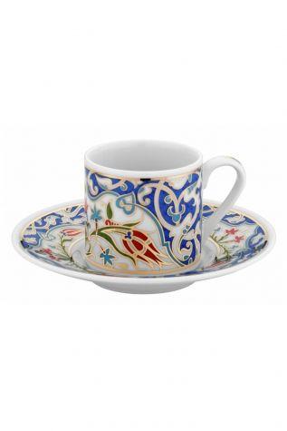 KÜTAHYA PORSELEN - Kütahya Porselen Rüya 3862 Desen Kahve Takımı
