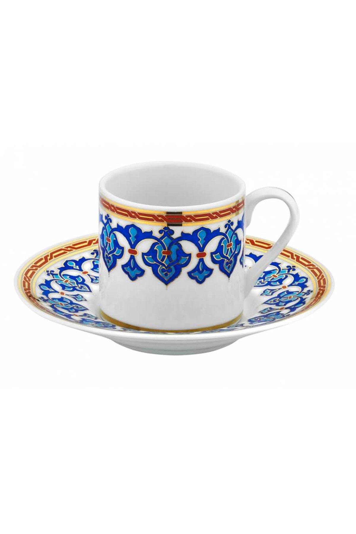 KÜTAHYA PORSELEN - Rüya İki Kişilik Kahve Takımı Dekor No:3866